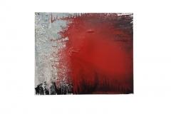 Frank Balve | Dämmerung kommt an, 2018, acrylic on canvas, 80 x 100 cm /  31.5 x 39.4 in