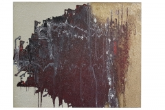 Frank Balve | Schauer Gewitter, 2018, acrylic on canvas,  80 x 100 cm /  31.5 x 39.4 in