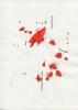 Imi Knoebel - Untitled, 1974, India ink,Charcoil, 29,7 x 21 cm