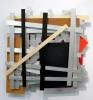 Imi Knoebel - Les autres deux, 1992, Aluminium, acrylic, hardboard, 200 x 200 x 20 cm