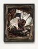 Manuel Eitner - Falldach, 2010, Collage, Mixed Media, 50 x 40 cm