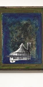 Manuel Eitner - Vom werden, 2011, Collage, Mixed Media, 50 x 40 cm