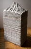 Mateo Mate - Montana de periodicos 2, 2013, newspapers, 126 x 59 x 41 cm