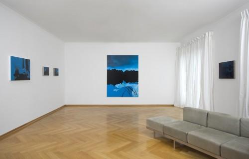 """Markus Huemer - Installation view """"Schönologie"""", 2010"""