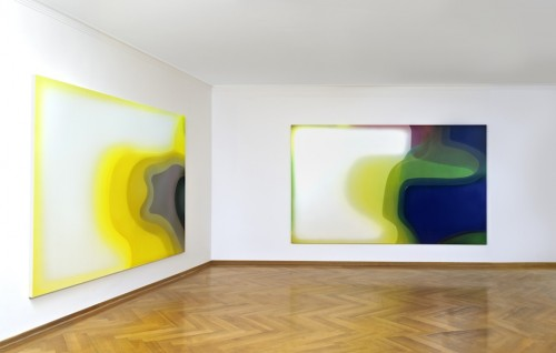 Peter Zimmermann - Neue Bilder, Installtion view 2011 @ Galerie MaxWeberSixFriedrich