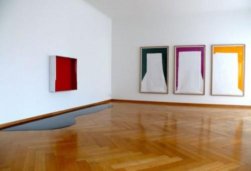 Rainer Splitt - Installation view 2010 @ Galerie MaxWeberSixFriedrich