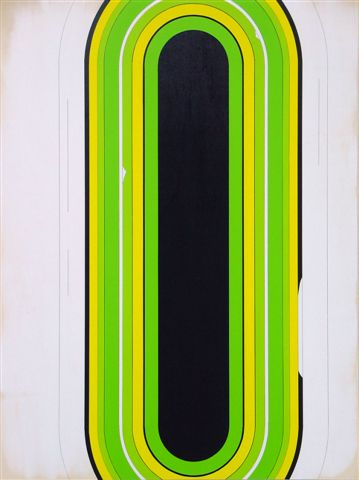 untitled, 2012, Acryl on plywood, 120 x 90 cm