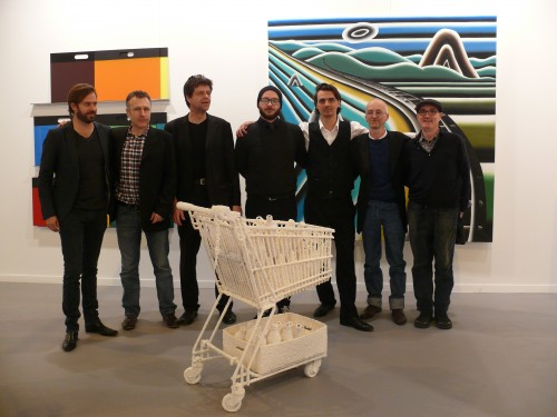 ARCO 2014 - Philipp Siempelkamp, Mateo Mate, Rainer Splitt, Frank Balve, Max Weber, Markus Huemer, Pablo Genoves (left to right)