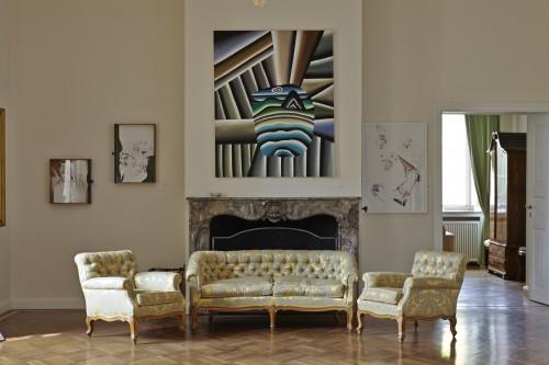 Galerie MaxWeberSixFriedrich @ Burg Gudenau, Installation view, 2014