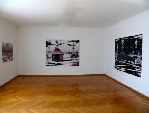 "Maik Wolf ""Orphic Fog"" | Installation view, 2014"