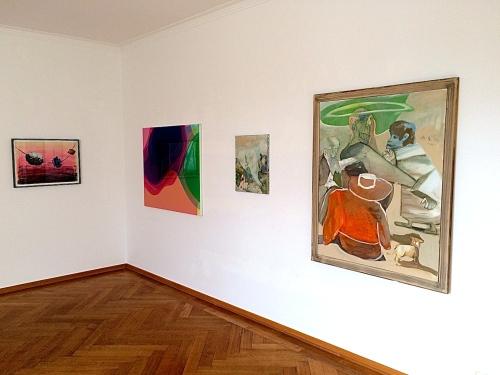 Installation view, 2014 Schulze, Zimmermann, Anzinger