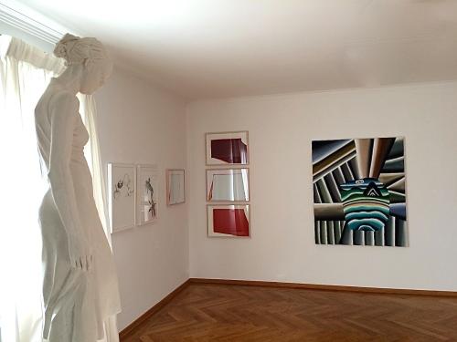 Installation view, 2014 Härtel, Märkl, Splitt, Schulze