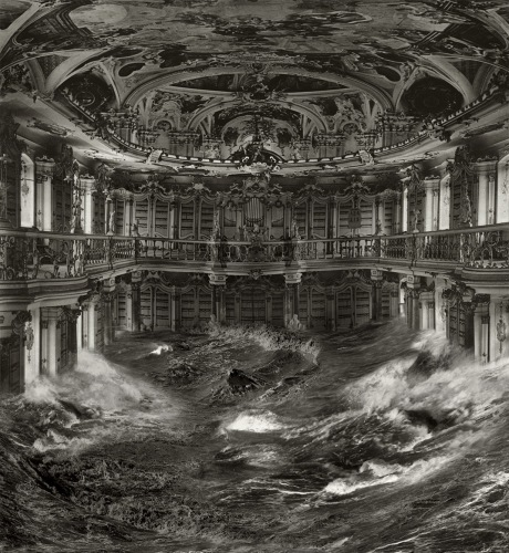 Pablo Genoves - Bibliothek, 2009/15, Digigraphie, 174 x 160 cm