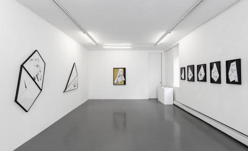 Nina Annabelle Märkl | Installation view, 2017