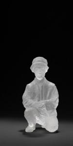 Christina Doll - Hirte, 2013/14, Acrylharz, 25 x 13 x 14 cm
