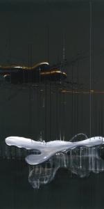"Dirk Streber - NO. 8, 2010, oil on canvas, 180 x 120 cm / 70.9 x 47.2"""