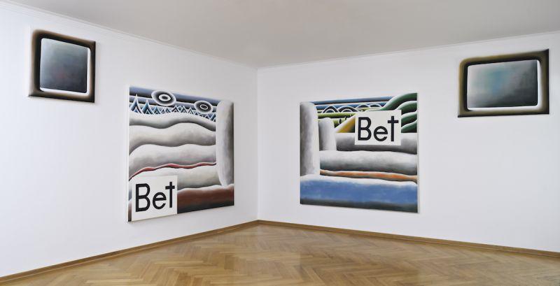 Andreas Schulze - Installation View 2011 @ Galerie MaxWeberSixFriedrich