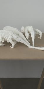 Elke Haertel - untitled, 2008, Polyurethan, 29 x 118 x 140 cm, Edition of 4