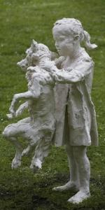 Elke Haertel - Eloise, 2014, Polymer cast, H 103 cm
