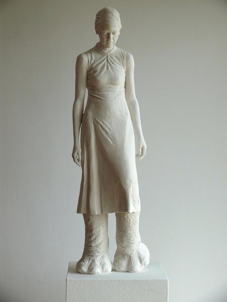 Elke Haertel - Tanz mit mir II, 2010, Cast, Edition of 4 + 1 a.p., 80 x 20 x 14 cm