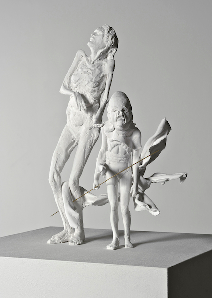 Elke Haertel - untitled, 2012, dental cast, Edition of 4 + 1 a.p., 38 x 33 x 30 cm