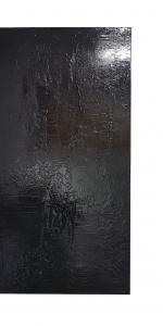 Frank Balve | Dunkle Karte, 2018, acrylic on canvas, 110 x 55 cm / 43.3 x 21.7 in