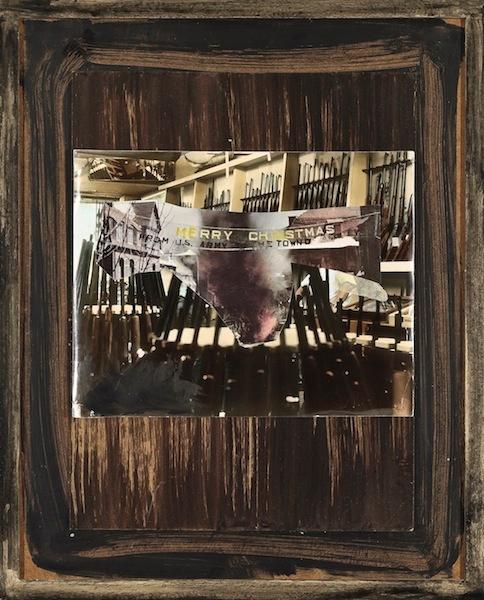 Manuel Eitner - Käppchenbär, 2011, Collage, Mixed Media, 50 x 40 cm