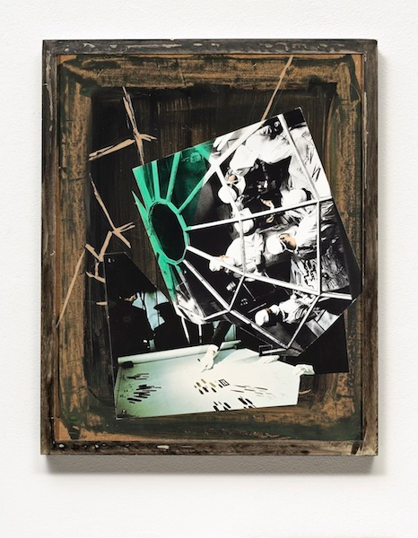 Manuel Eitner - Starr, 2010, Collage, Mixed Media, 50 x 40 cm