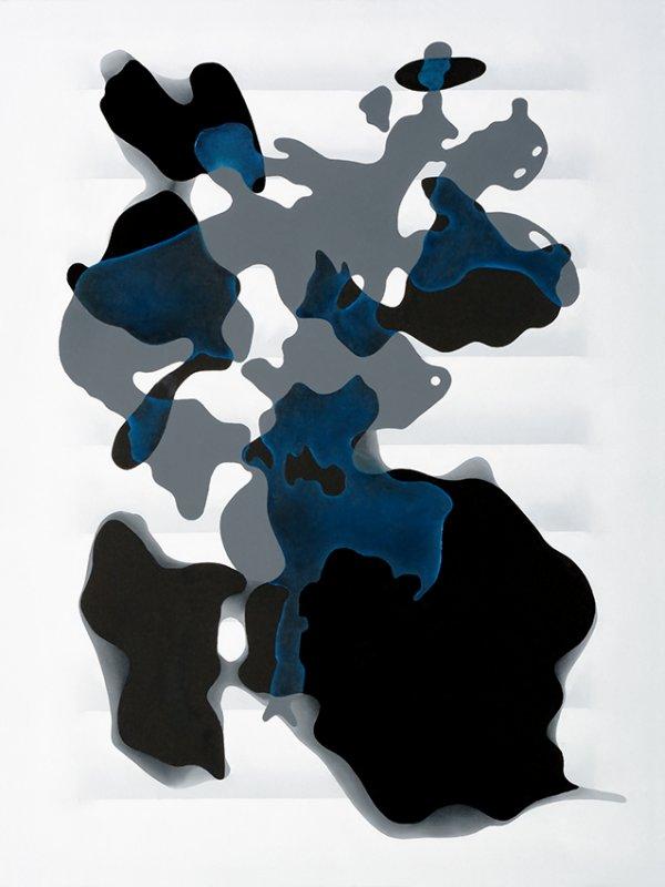 Markus Huemer - Rosenähnliche Blätter, 2016, Oil on canvas, 890 x 60 cm