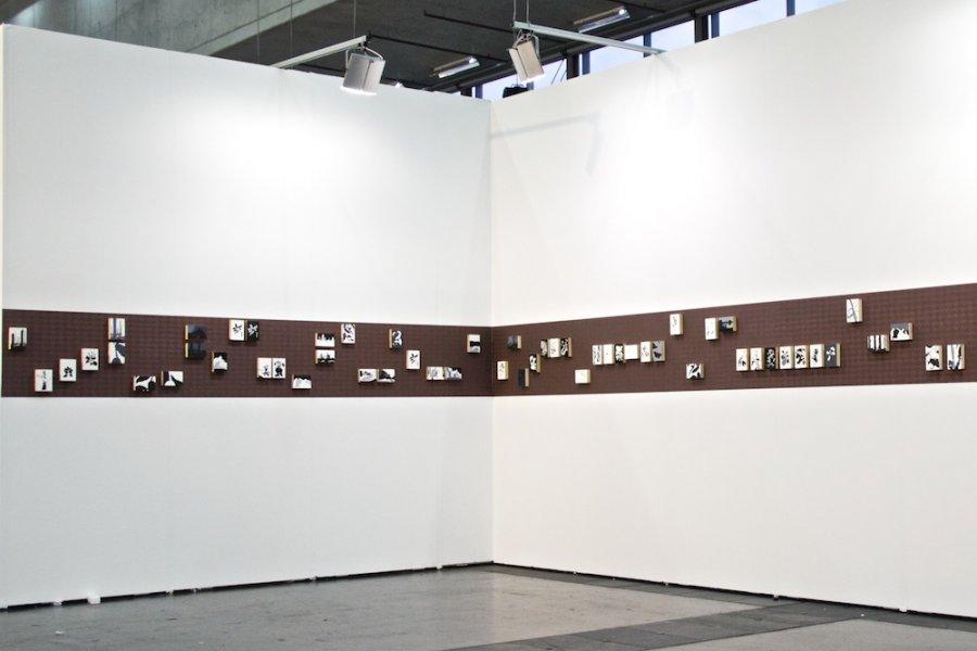 Markus Huemer - Installation view, 2014 at Viennafair