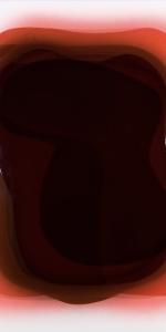 Peter Zimmermann - Base, 2011, Epoxy resin, Spraypaint on canvas, 120 x 100 cm / 47.2 x 39.4 in.