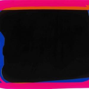Peter Zimmermann - Screen, 2016, Epoxy resin on canvas, 145 x 200 cm / 78.7 x 57 in.