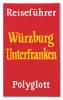 Peter Zimmermann - Reiseführer (Polyglott Würzburg Unterfranken), Epoxy resin on canvas, 80 x 48 cm   31.5 x 18.9 in