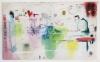 PNIK - leaA, 2020, Mixed Media on canvas, 110 x 180 cm / 43.3 x  70.9 in
