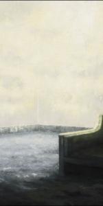 Sid Gastl - Cremehimmel, 2016/18, Oil on canvas, 145 x 220 cm