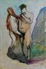 Siegfried Anzinger - untitled, 2009, Oil on canvas, 50 x 34 cm / 19.7 x 13.4 in