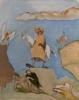 Siegfried Anzinger - untitled, 2009, Oil on canvas, 70 x 55 cm / 27.5 x 21.6 in