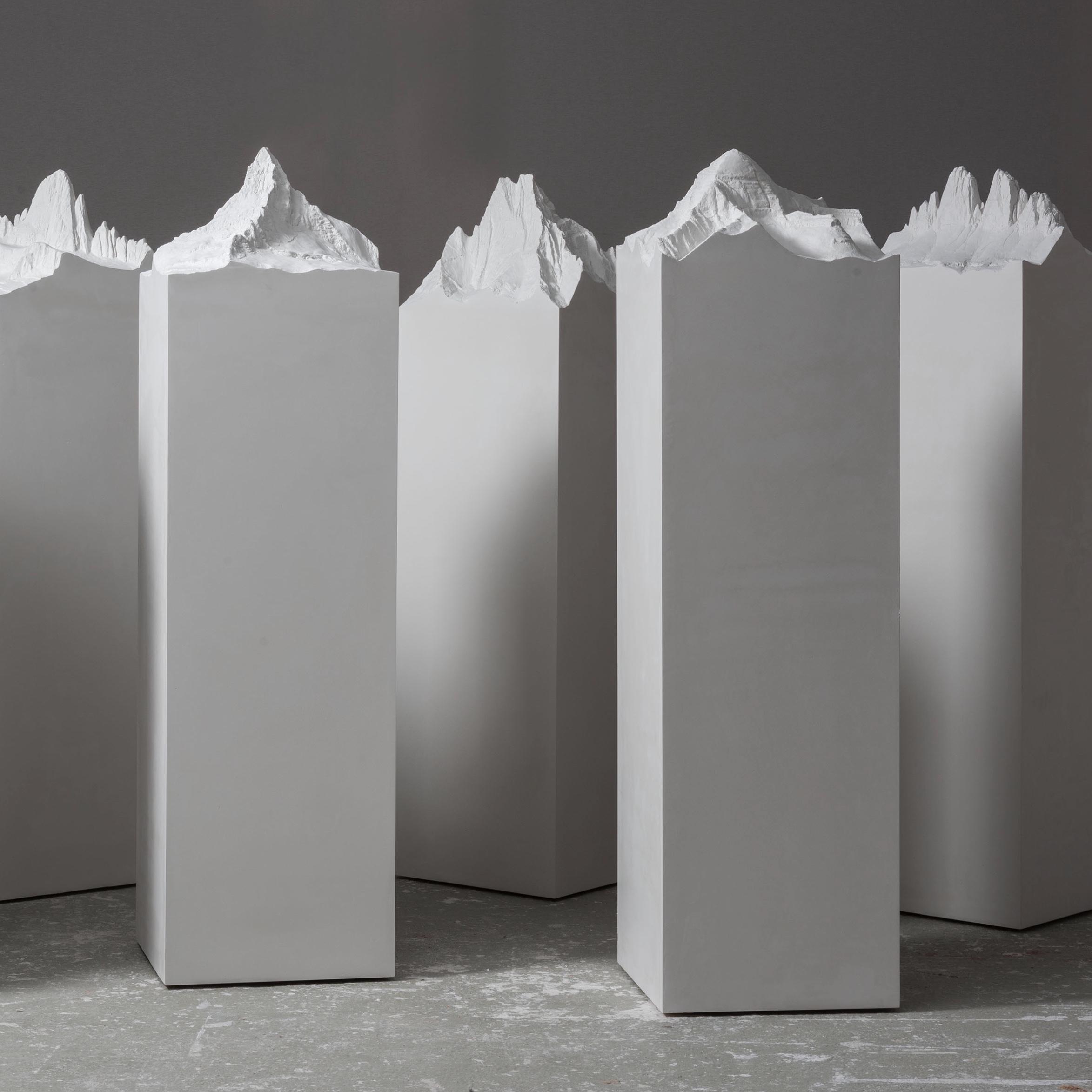 "Perfect Sculptures, 2020/21, dental cast, 180 x 50 x 50 / 70.9"" x  19.7"" x 19.7"""