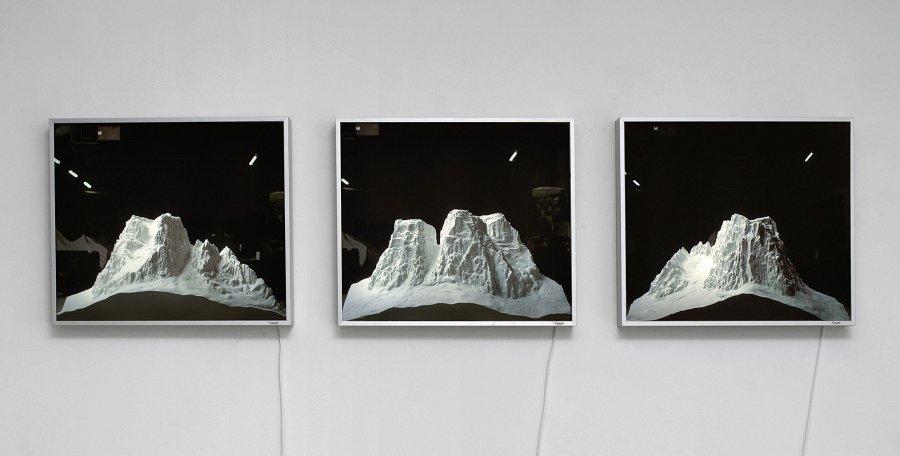 Stephan Huber - Pelmo, 2001/06, 3 Lightboxes, 51,5 x 61,5 cm, Edition : 5 + 1 a.p.