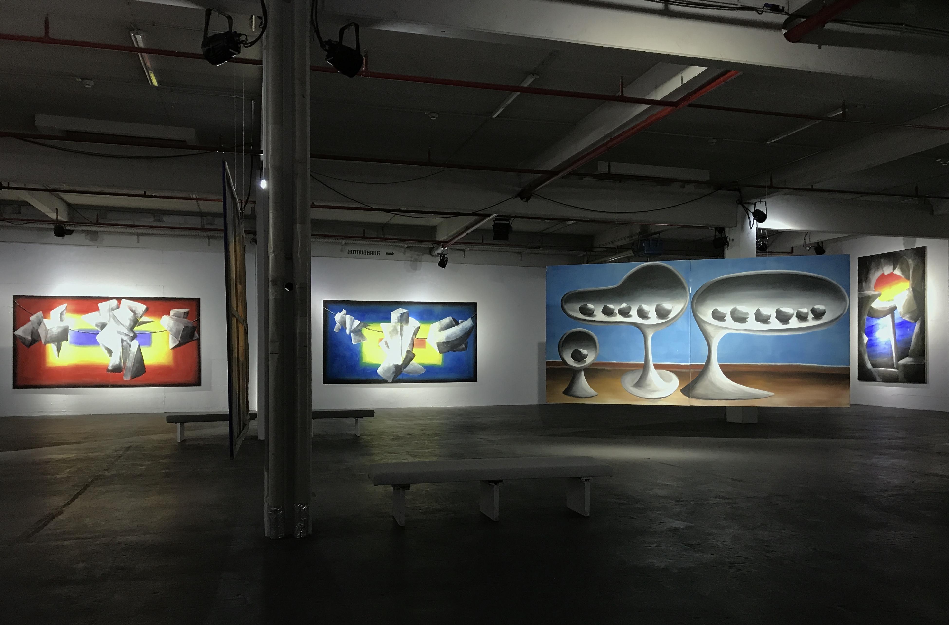 Andreas Schulze | Bilder der 80er Jahre im Kunst Block Balve